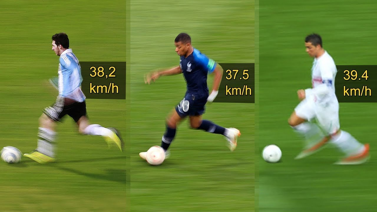 Record Breaking Sprint Speeds in Football