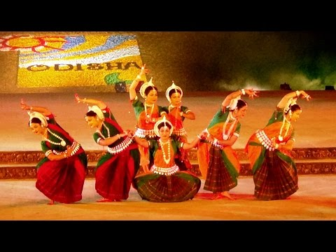 Indian Classical Dance at Konark Festival 2016 - Part 1 - Od