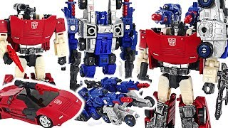 Transformers Generations War for Cybertron: Siege! Sideswipe and Cog combine! #DuDuPopTOY