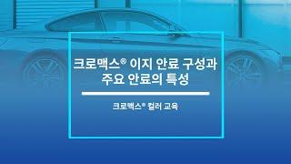 크로맥스® 이지 안료 구성 및 주요 안료 특성