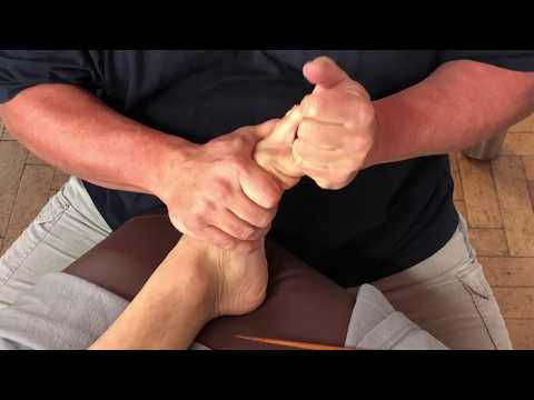 Foot Massage. Toe Massage. Moving Trapped Energy. Raynor Massage On Jeremy Part 3