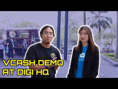 Vcash Demo at Digi HQ