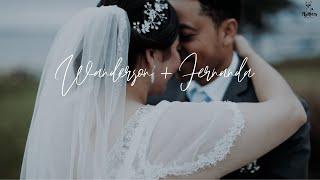 Intimate, beautiful wedding in Hyannis, MA | Wanderson + Fernanda