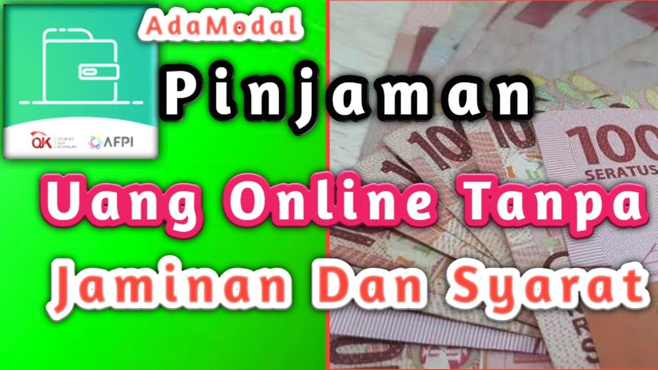Pinjaman Uang Online Tanpa Jaminan Dan Syarat Youtube