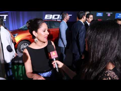 Sakina Jaffrey ~ 15th Annual IIFA Awards Green Carpet s