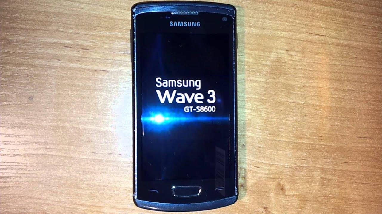 firmware samsung wave 3 gt-s8600