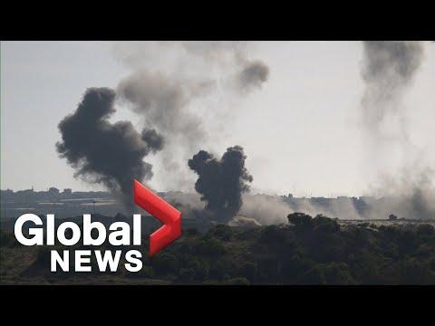 Multiple Explosions Rock Gaza-Israel Border