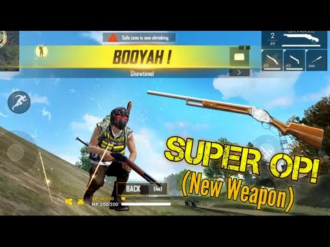 NEW WEAPON M1887! (Overpowered..) [New Update] - Garena Free Fire Advance Server