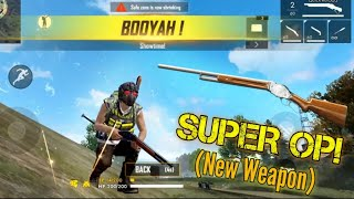NEW WEAPON M1887! Overpowered.. New Update - Garena Free Fire Advance Server