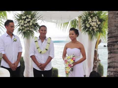 Jaye & Lee's Wedding Rarotonga