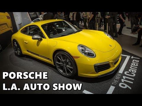 Porsche Press Conference @ Los Angeles Auto Show 2017