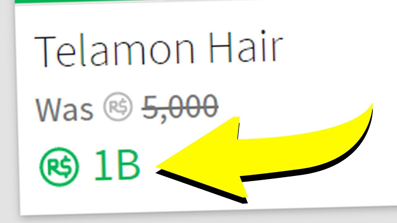The Most Expensive Item On Roblox Roblox The Most Expensive Roblox Item Youtube