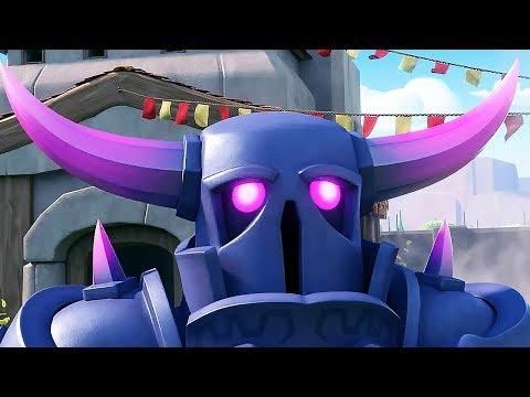 Clash Of Clans Nuevas Animaciones ( 2018) FAN EDIT EN Espa帽ol (HD)