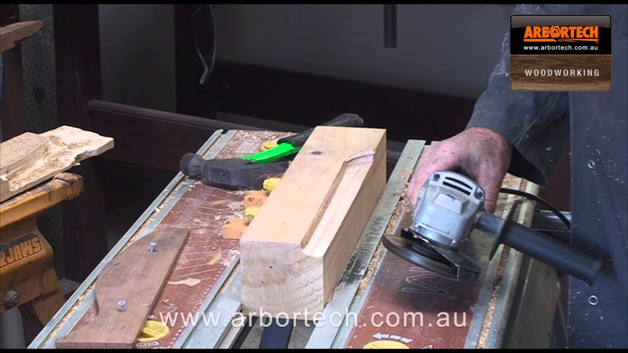 193 - Power Carving with the Arbortech TURBOPlane - The Wood