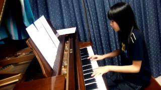 My Neighbor Totoro (となりのトトロ) - The Ending Song. Anita Lin, Piano.