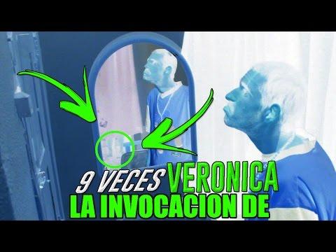 LA INVOCACIÓN DE VERÓNICA 9 VECES Y APARECE FANTASMA REAL | Invocaciones paranormal y ritual creepy
