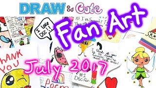 Draw So Cute Fan Art July 2017