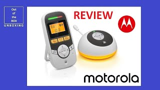 Motorola MBP161TIMER Digital Audio Baby Monitor with Baby Care Timer MBP161 REVIEW / TEST