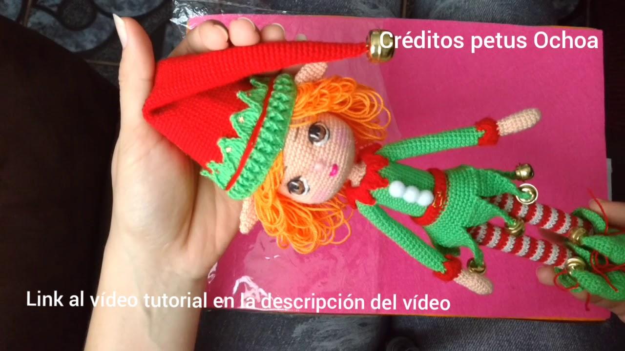Elf Christmas Free Amigurumi Pattern - Sueños Blanditos | 720x1280
