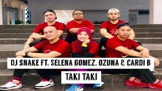 TeacheRobik - Taki Taki by DJ Snake ft. Selena Gomez, Ozuna & Cardi B