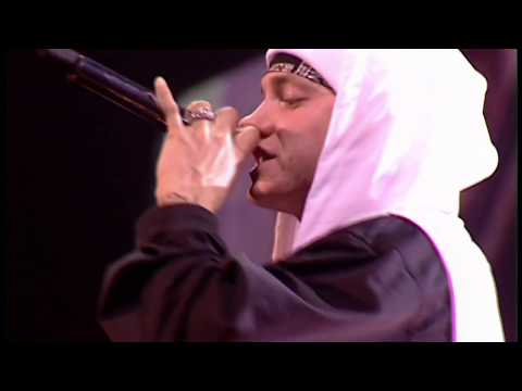 Eminem  Cleanin Out My Closet & Lose Yourself  MTV EMA 2002