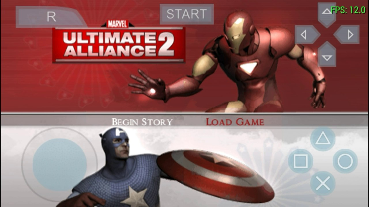 How to download marvel ultimate alliance 2 on android + Best settings