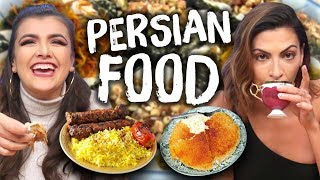 Trying PERSIAN Foods for the First Time! (Cheat Day)