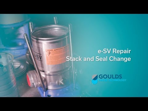 e-SV: How to Repair the Stack Assembly and Change a Seal