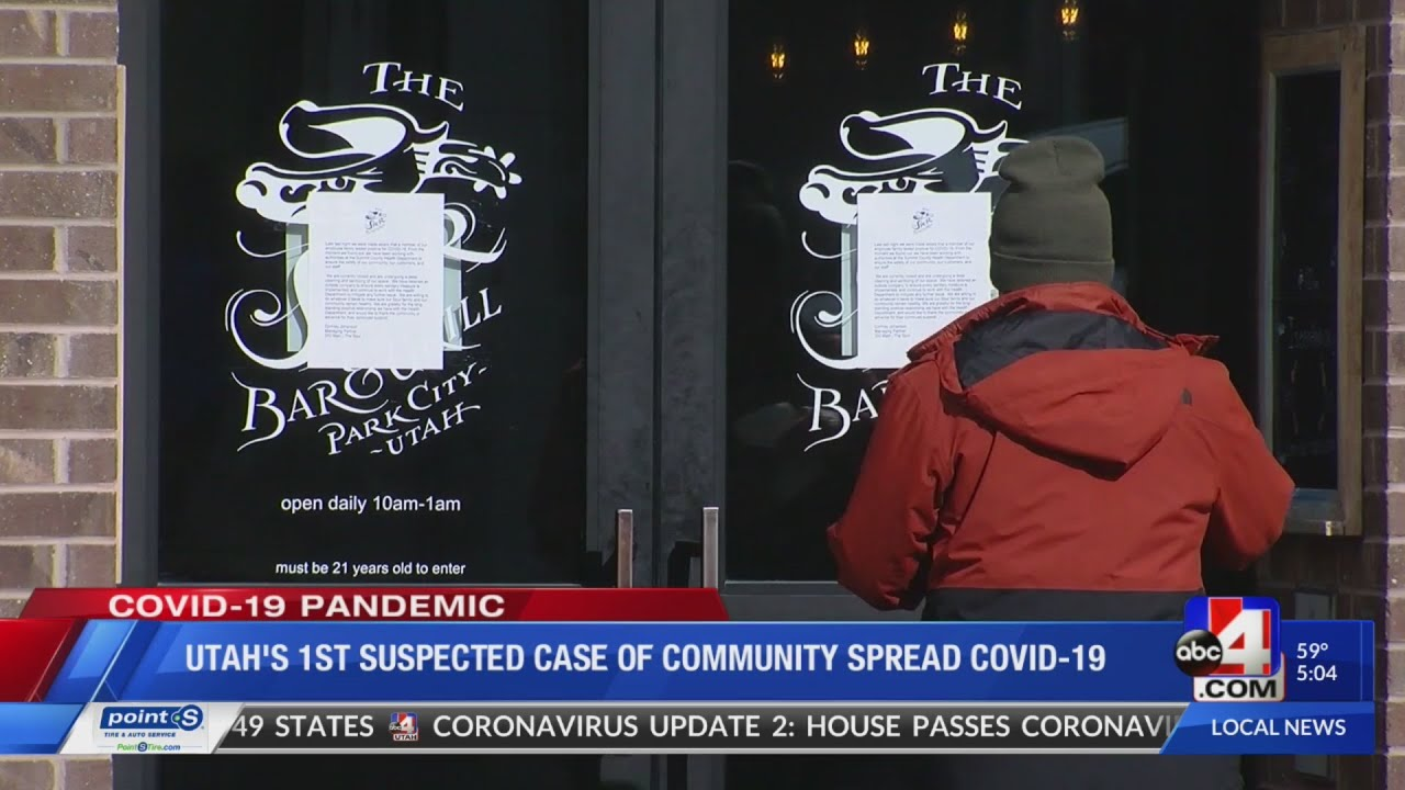 Coronavirus in Utah: Summit County Community Spread