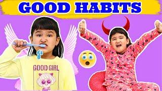 GOOD HABITS for Kids   Good vs Bad Manners   ToyStars