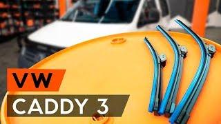 Τοποθέτησης Καθαριστήρα πίσω και εμπρος VW CADDY: εγχειρίδια βίντεο