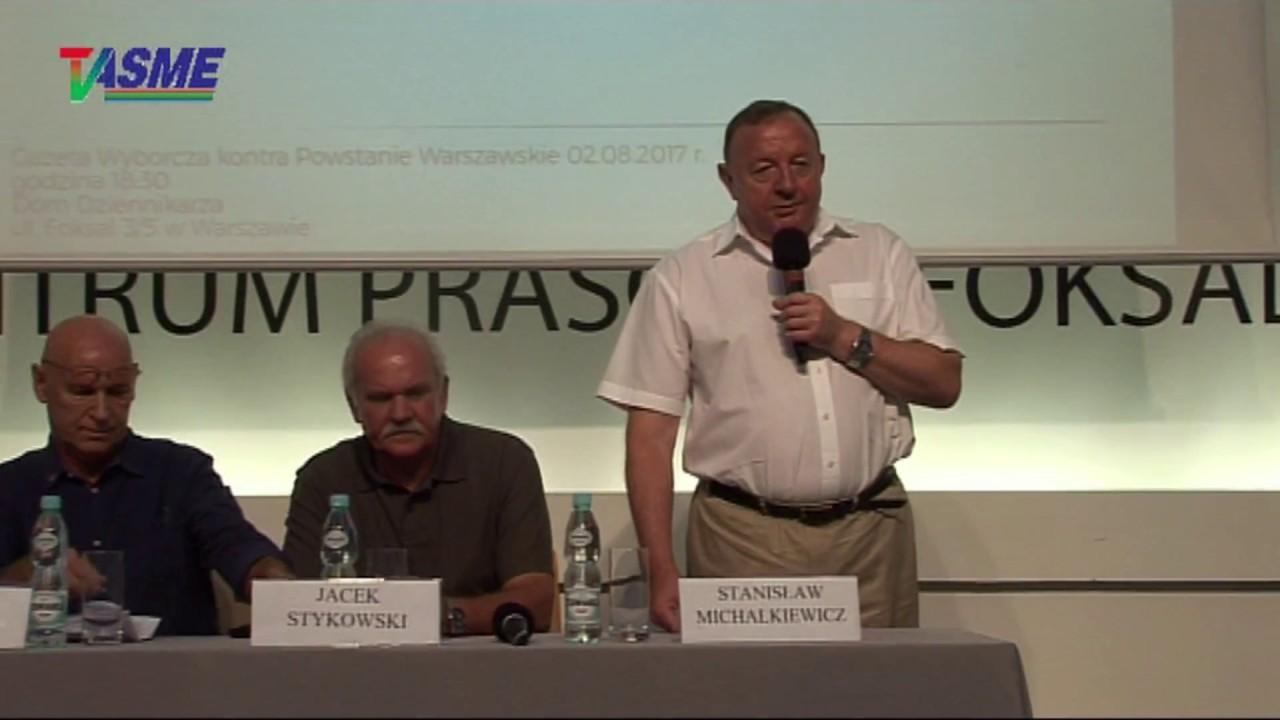 """Gazeta Wyborcza kontra Powstanie Warszawskie – promocja książki """"Kapitan »Hal«"""""""