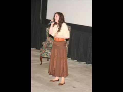 Kallie performing Astonishing from Little Women