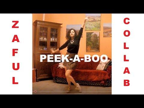 Red Velvet Peek-a-Boo DANCE -Zaful Sponsor-