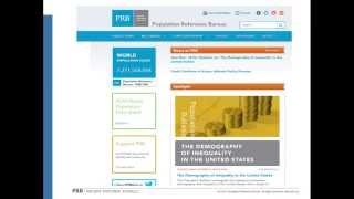 PRB Webinar: The Demography of Inequality