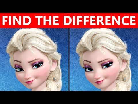 ONLY TRUE GENIUS can FIND THE DIFFERENCE | 100% FAIL | FROZEN MOVIE PUZZLES