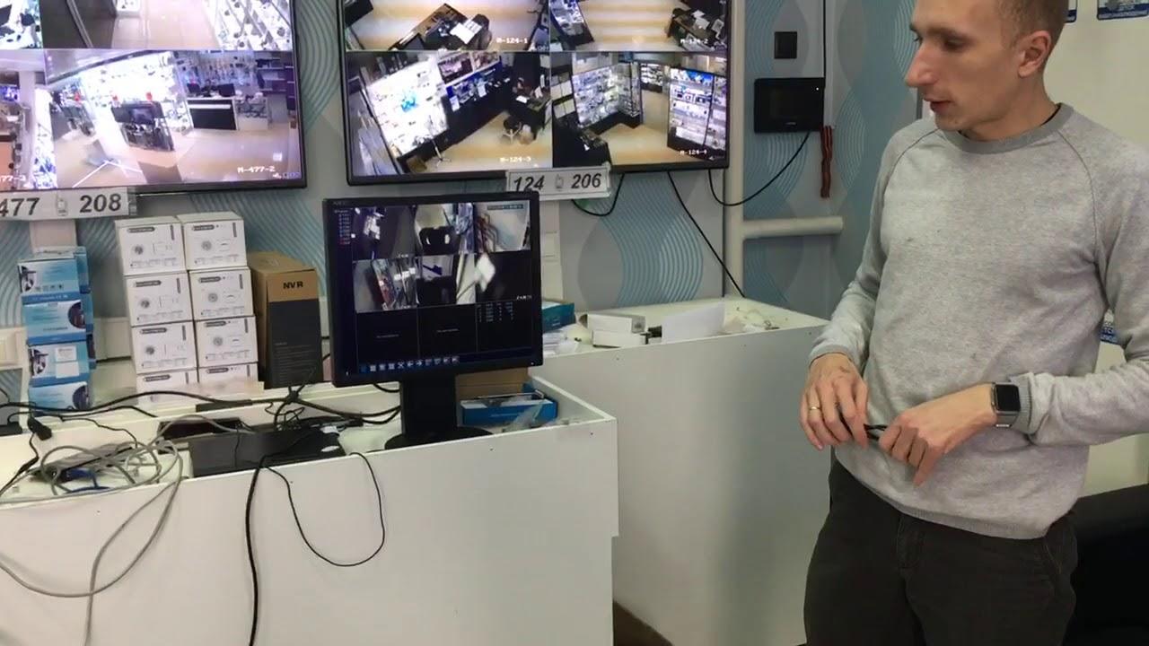 Монтаж ip комплекта системы видеонаблюдения своими руками