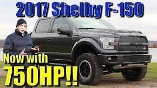 750HP 2017 Shelby F150 with Raptor Style Fox Shocks! Walkaround, Description, Review