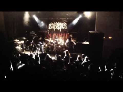 AD PATRES - In Vivo - live 01.03.2014 Toulon Death fest France