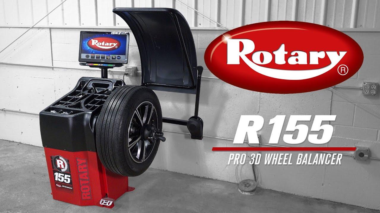 Rotary R155 Wheel Balancer Demo