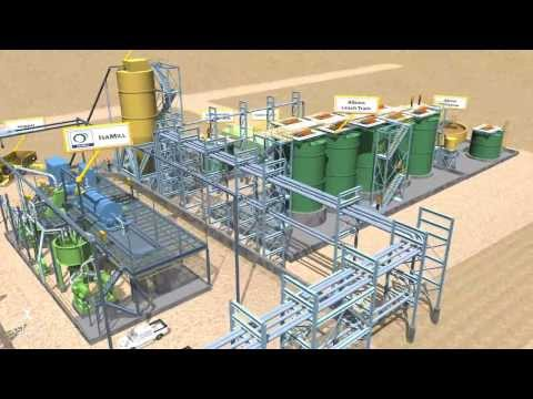 3D Mine Site Animation - Xstrata Fly Through
