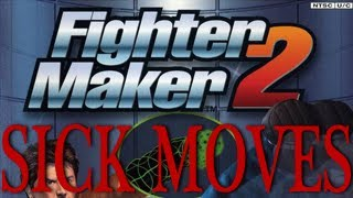 Sick Moves: Fighter Maker 2 (all default throws)