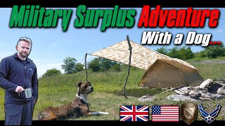 🎖️ Military Surplus Adventure With Dog 🎖️