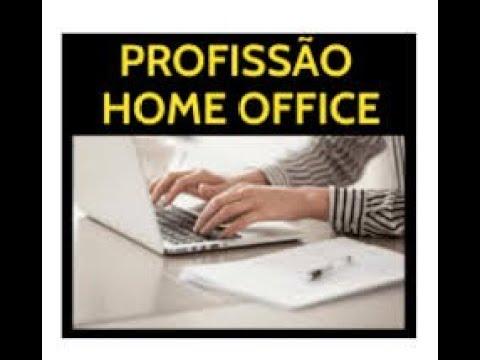 profissão em home office
