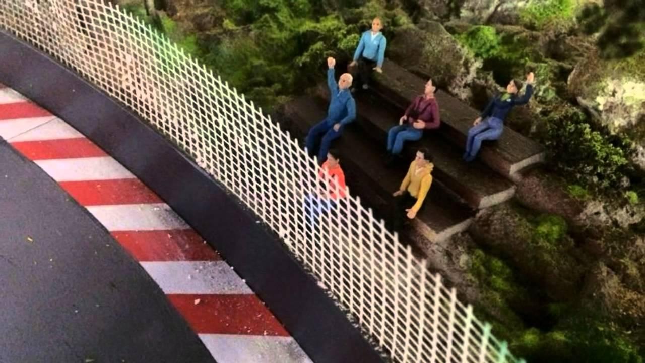 Dekoarbeiten Auf Einer Carrera Digital Bahn Youtube