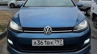 Купил МИНИ ГОНОЧКУ! VW GOLF 7 1.4 140 л.с. Идеальная тачка для города. Поездка в Москву