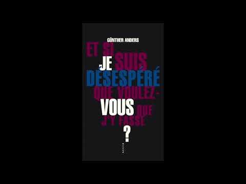 Claire Nouvian à propos de Günther Anders - Une journée particulière - France Inter