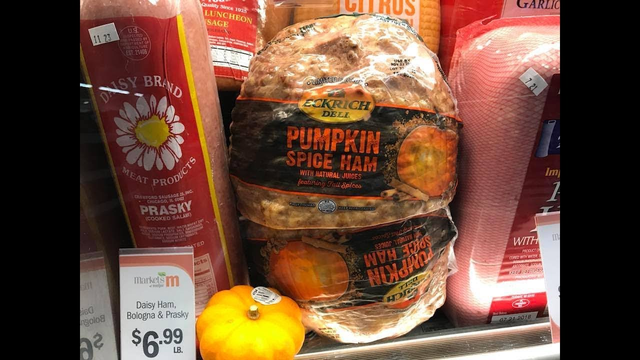 9c024a30 Maybe you thought the deli counter was safe from pumpkin spice. And for a  while, it was. Then came 2016, and Hannaford introduced sliced-to-order  pumpkin ...