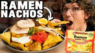 Josh Makes Instant Ramen Nachos
