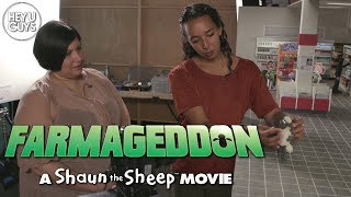 Shaun the Sheep Farmaggedon - We go Behind the Scenes with Aardman Animations